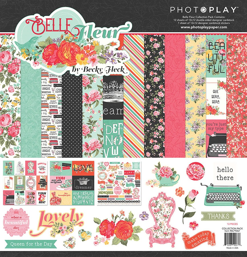 Photo Play Paper Vintage Girl PhotoPlay Collection Pack 12X12
