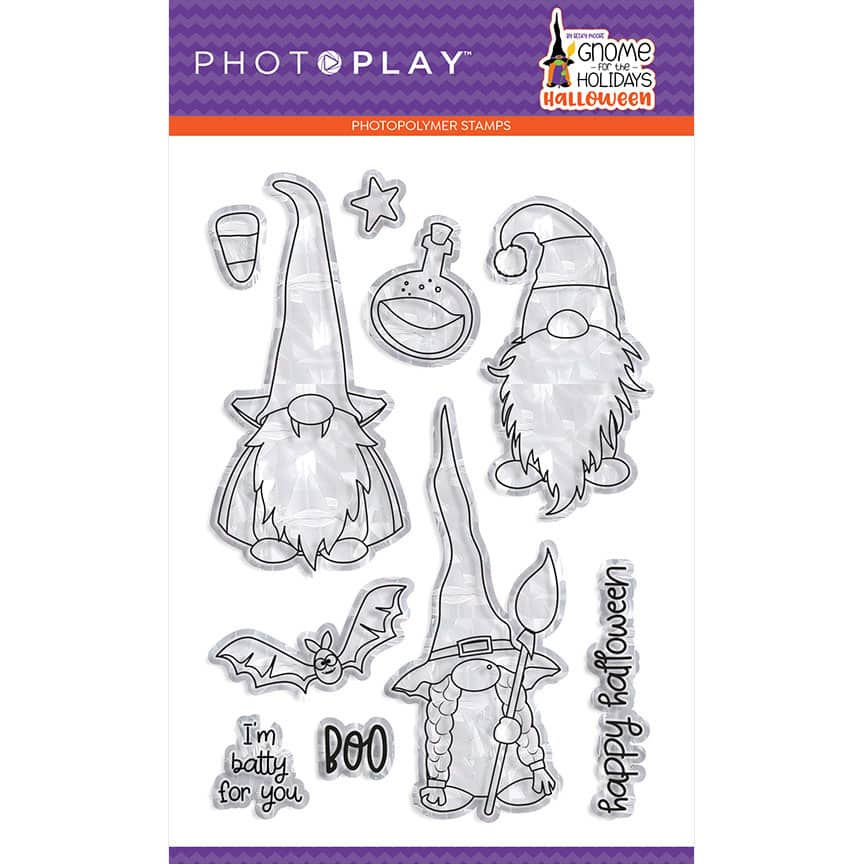 Gnome For Halloween - Photo Play Paper Co.